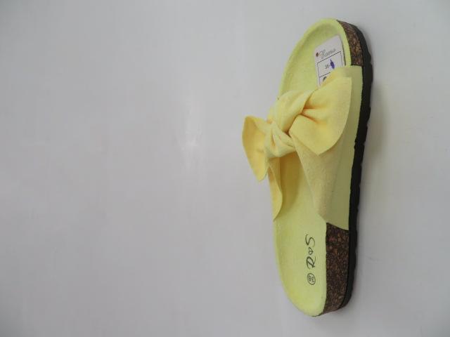 Klapki Damskie FF-005, Yellow, 36-41