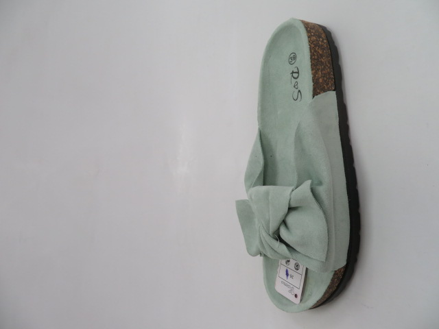 Klapki Damskie FF 005, Green, 36-41 1