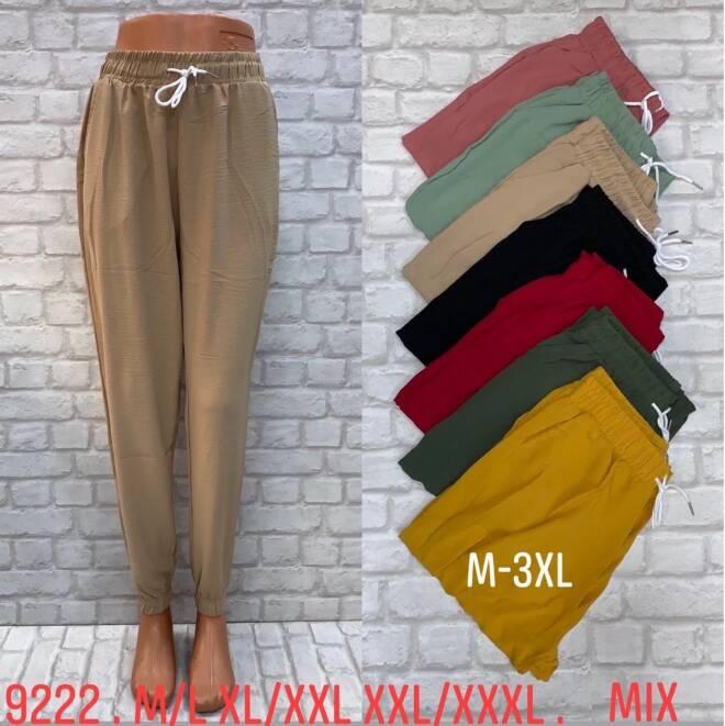 Spodnie Damskie 9222 MIX KOLOR S/M-L/XL