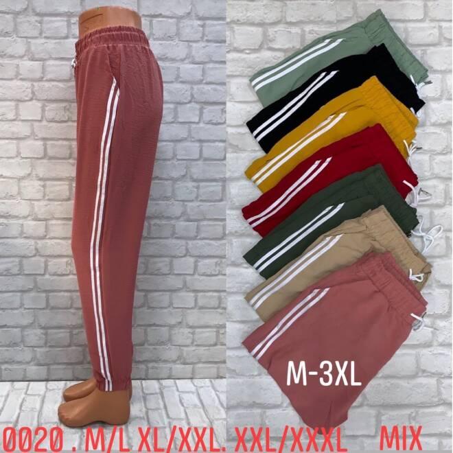Spodnie Damskie 0020 MIX KOLOR M/L-2XL/3XL