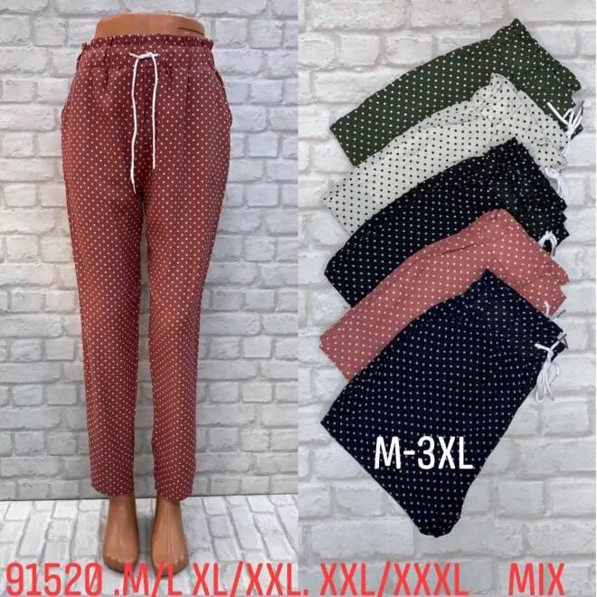 Spodnie Damskie 91520 MIX KOLOR M/L-2XL/3XL