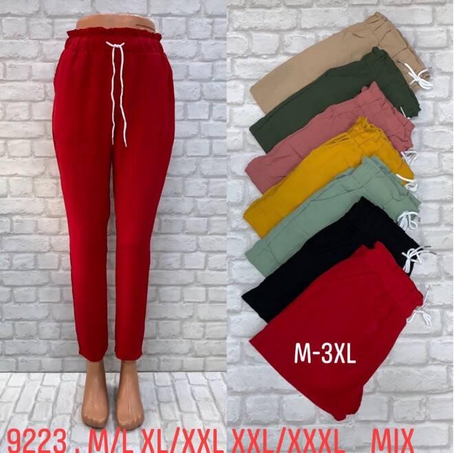 Spodnie Damskie 9223 MIX KOLOR M/L-2XL/3XL