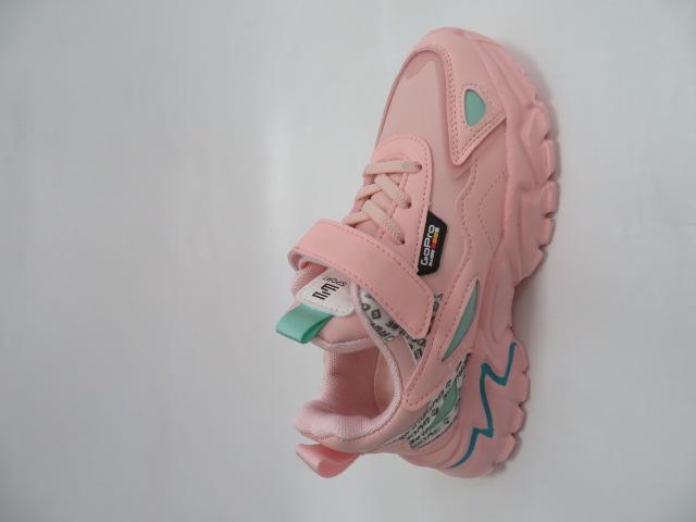Buty Sportowe Dziecięce L227, Pink, 32-37