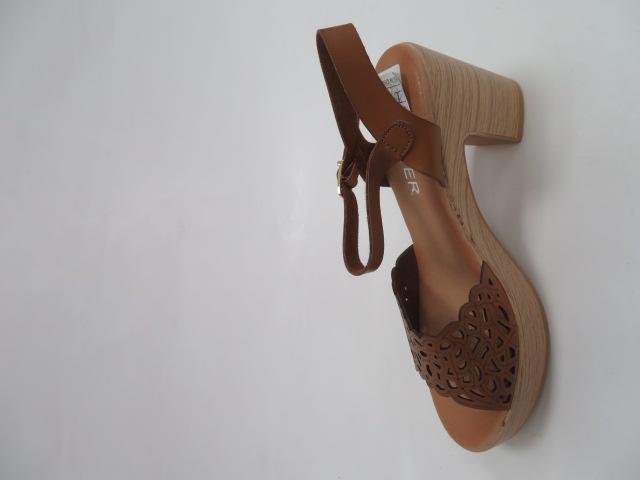 Sandały Damskie EX-8, Camel, 36-41 2