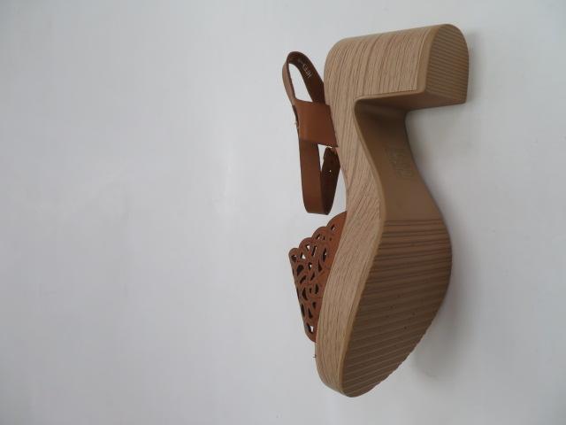 Sandały Damskie EX-8, Camel, 36-41 3