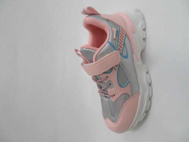 Buty Sportowe Dziecięce L237, Pink, 32-37