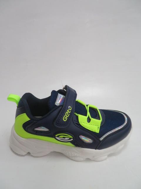 Buty Sportowe Dziecięce F766, Blue/Green, 26-31