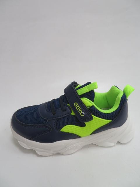 Buty Sportowe Dziecięce F765, Blue/Green, 26-31
