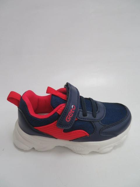 Buty Sportowe Dziecięce F765, Blue/Red, 26-31