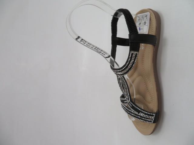 Sandały Damskie CZ-080, Black , 36-41 2