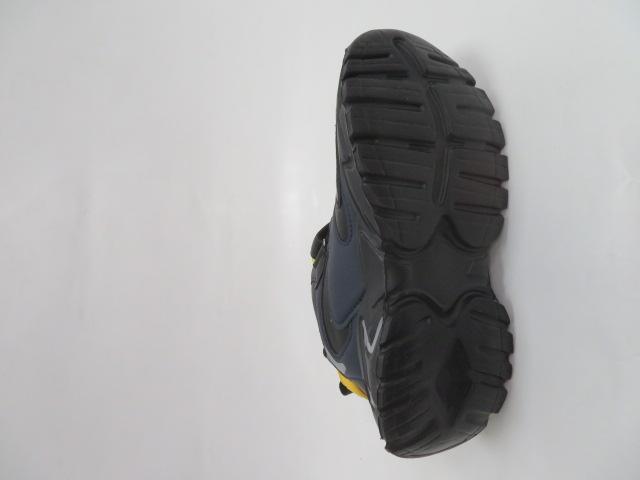 Buty Sportowe Dziecięce L250A, Black/Yellow, 32-37 3