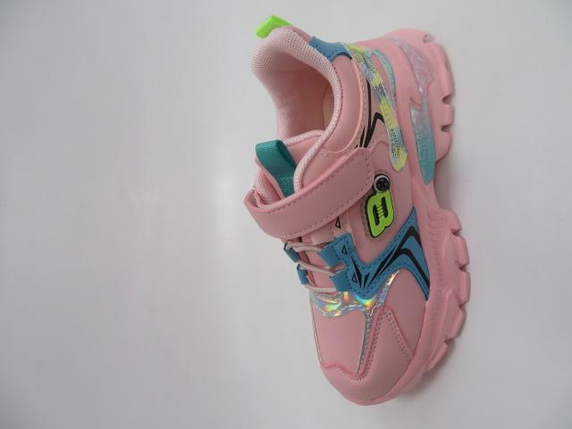 Buty Sportowe Dziecięce L229, Pink, 26-31