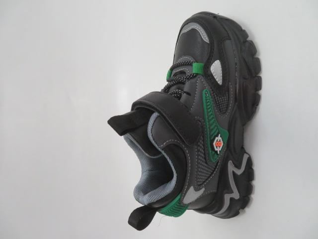 Buty Sportowe Dziecięce L250,Black/Green, 26-31