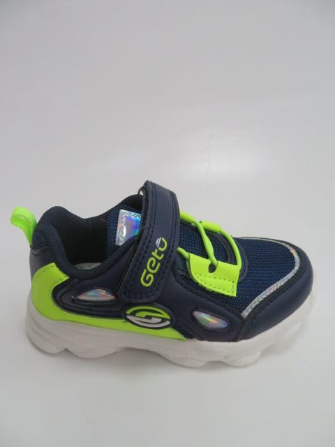 Buty Sportowe Dziecięce F762, Blue/Green, 20-25