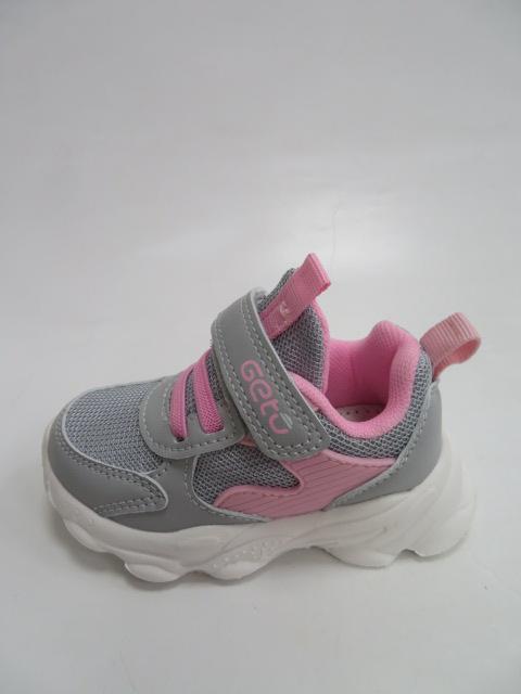 Buty Sportowe Dziecięce  F761, White/Pink, 20-25