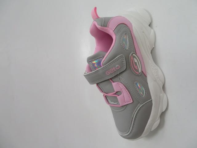 Buty Sportowe Dziecięce F821, Gray/Pink, 31-36