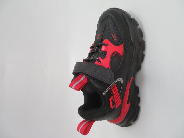 Buty Sportowe Dziecięce L237, Black/Red, 32-37