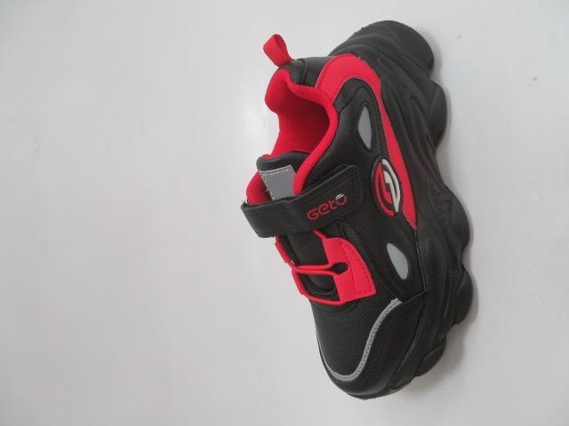 Buty Sportowe Dziecięce F821, Black/Red, 31-36