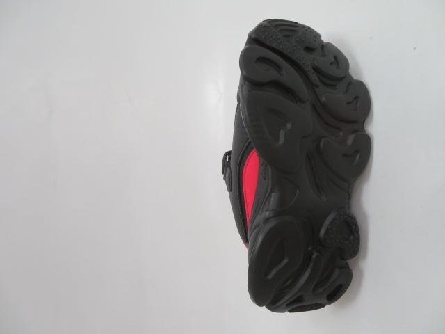 Buty Sportowe Dziecięce F821, Black/Red, 31-36 3