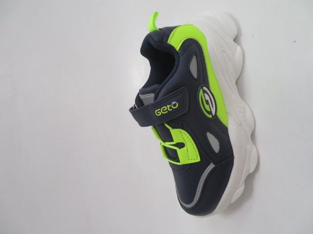 Buty Sportowe Dziecięce F821, Blue/Green, 31-36