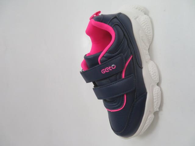 Buty Sportowe Dziecięce F801, Blue/Peach, 32-37
