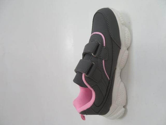 Buty Sportowe Dziecięce F801, Gray, 32-37 3