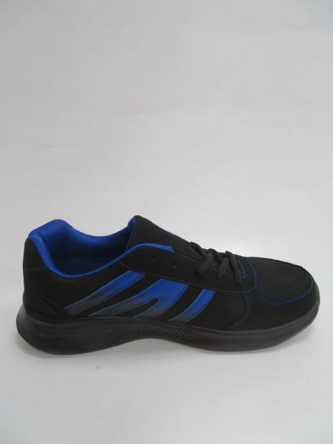 Buty Sportowe Męskie 20132-10, Black/Blue, 41-46
