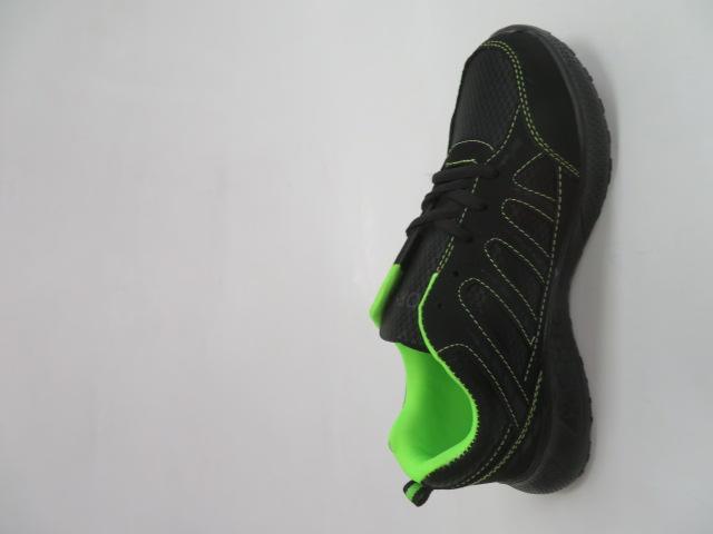 Buty Sportowe Męskie F052, Black/Green, 41-46 2