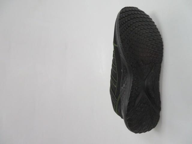 Buty Sportowe Męskie F052, Black/Green, 41-46 3