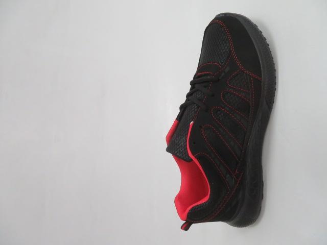 Buty Sportowe Męskie F052, Black/Red, 41-46 1