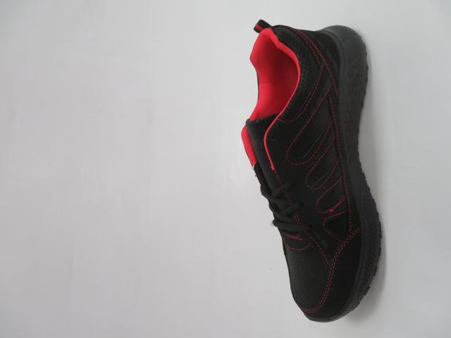 Buty Sportowe Męskie F052, Black/Red, 41-46 2