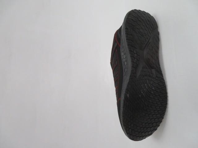 Buty Sportowe Męskie F052, Black/Red, 41-46 3