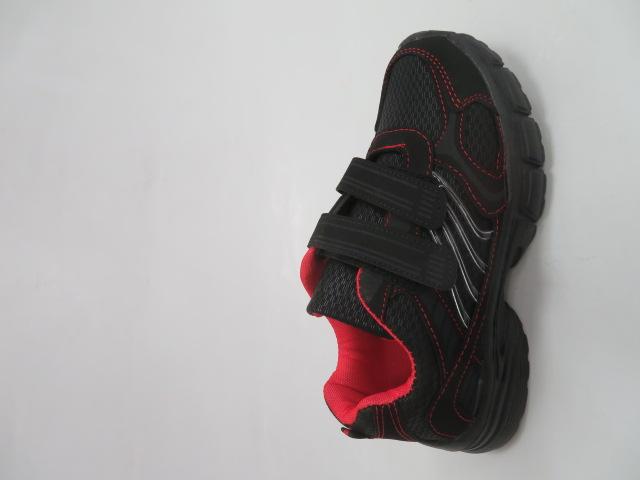 Sportowe Damskie F056, Black/Red, 36-41 1