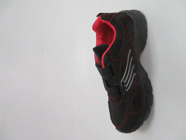 Sportowe Damskie F056, Black/Red, 36-41 2