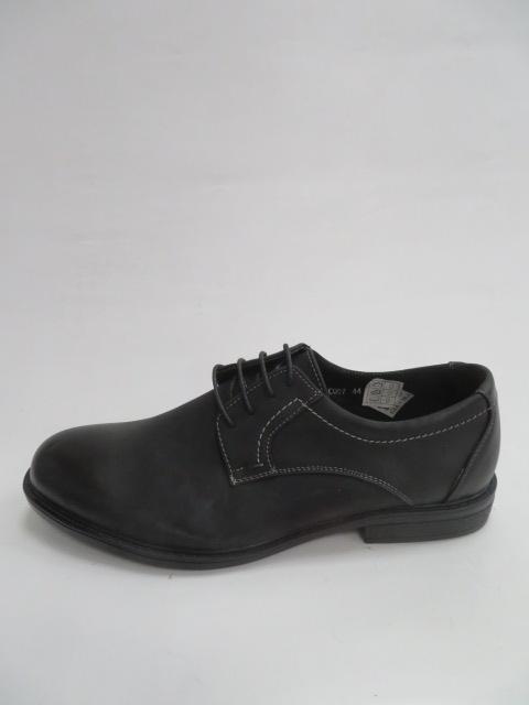 Półbuty Męskie C007, Black, 40-45