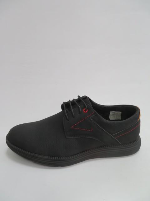 Półbuty Męskie C006, Black, 40-45