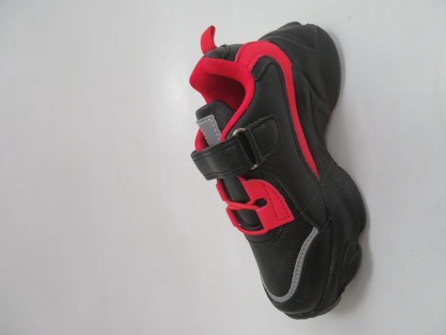 Buty Sportowe Dziecięce F822, Black/Red, 25-30