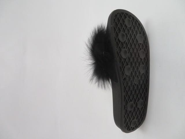 Klapki Damskie 2058, Black, 36-41 3