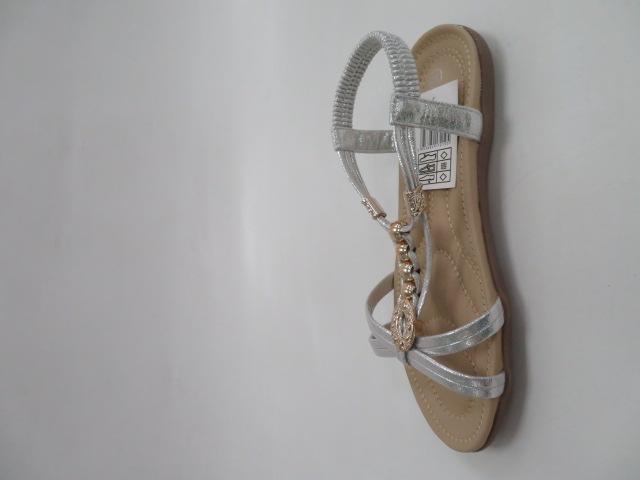Sandały Damskie FY2050, Silver, 36-41