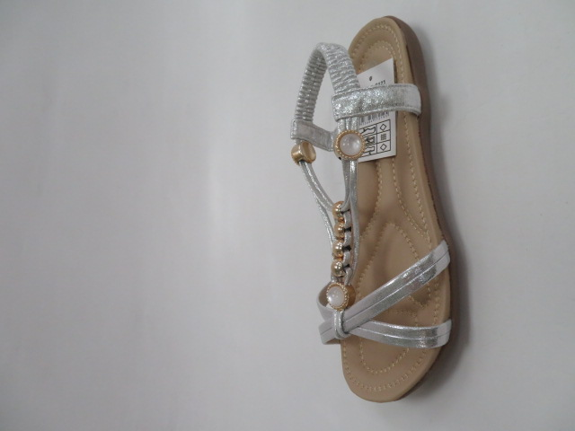 Sandały Damskie FY2037, Silver, 36-41