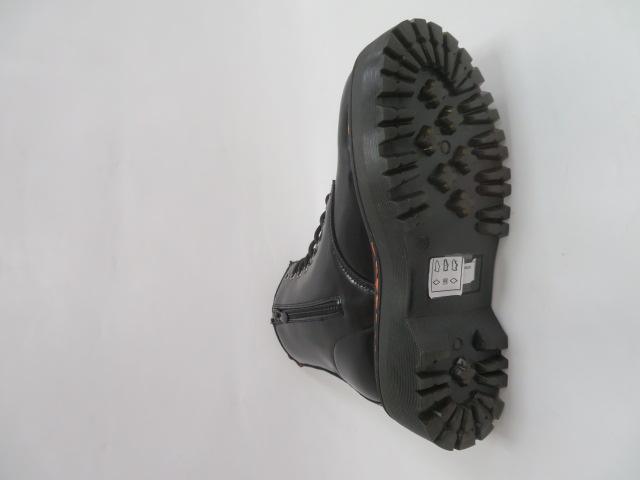 Botki Damskie KS-1255, Black, 36-41 3