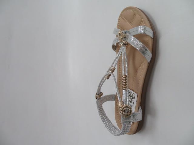 Sandały Damskie FY6610, Silver, 36-41