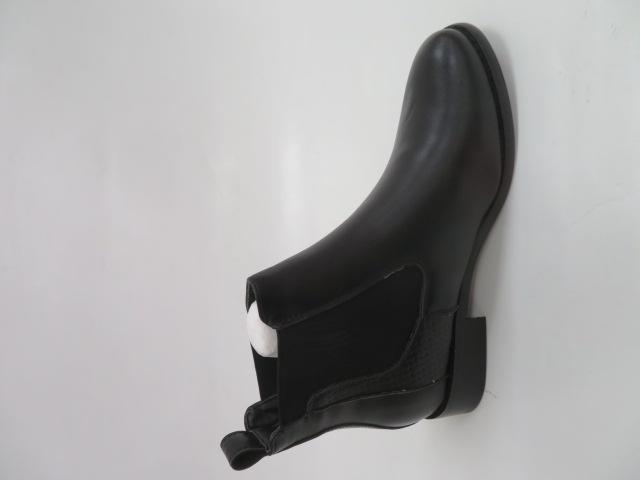 Botki Damskie Z19-002, Black, 36-41