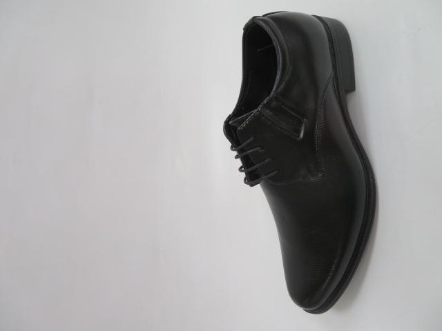 Półbuty Męskie MXC 395, Black/Black, 40-45