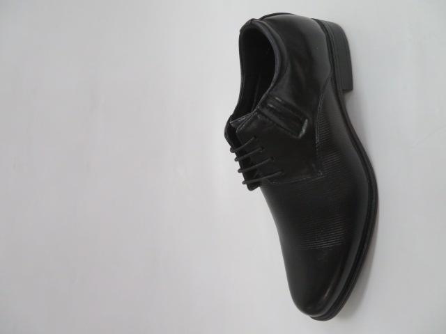 Półbuty Męskie MXC 396, Black/Black, 40-45
