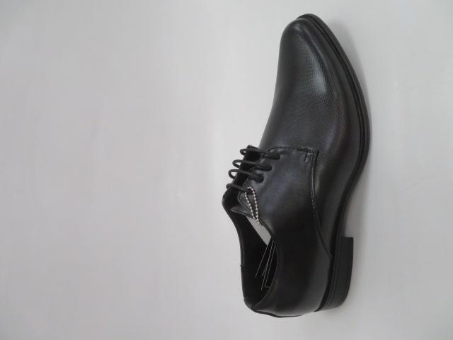 Półbuty Męskie MXC 397, Black/Black, 40-45