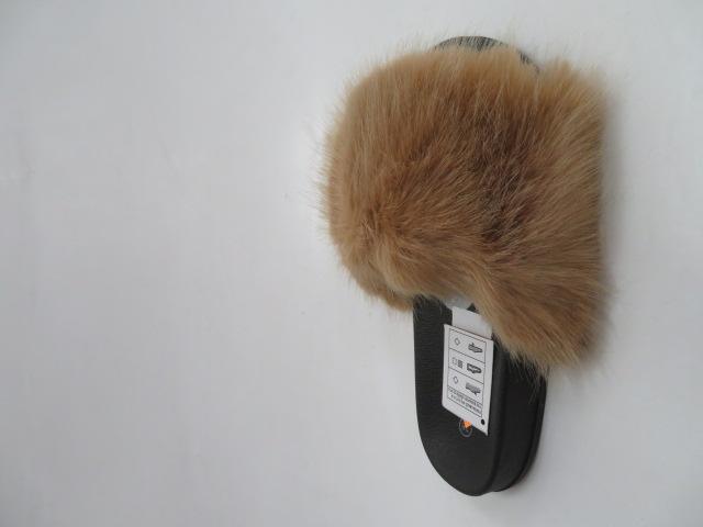 Klapki Damskie N88, Camel, 36-41