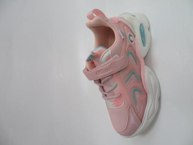 Buty Sportowe Dziecięce L310, Pink/Green, 32-37