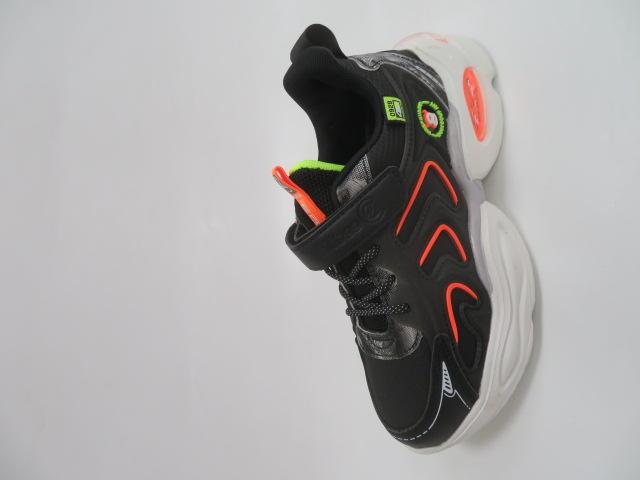 Buty Sportowe Dziecięce L310, Black/Green, 32-37