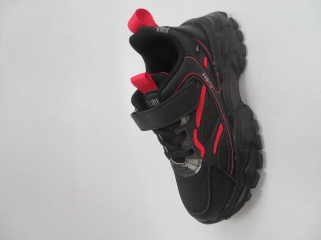 Buty Sportowe Dziecięce L311, Black/Red, 32-37